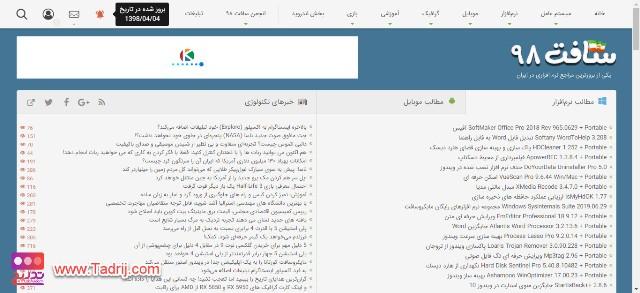 انواع مختلف کسب درآمد از اینترنت در ایران - سایت soft98