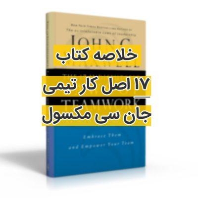 خلاصه کتاب 17 اصل کار تیمی جان سی مکسول (رایگان)